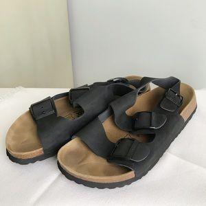 Birkenstock BETULA Milano Leather Suede Sandals 41